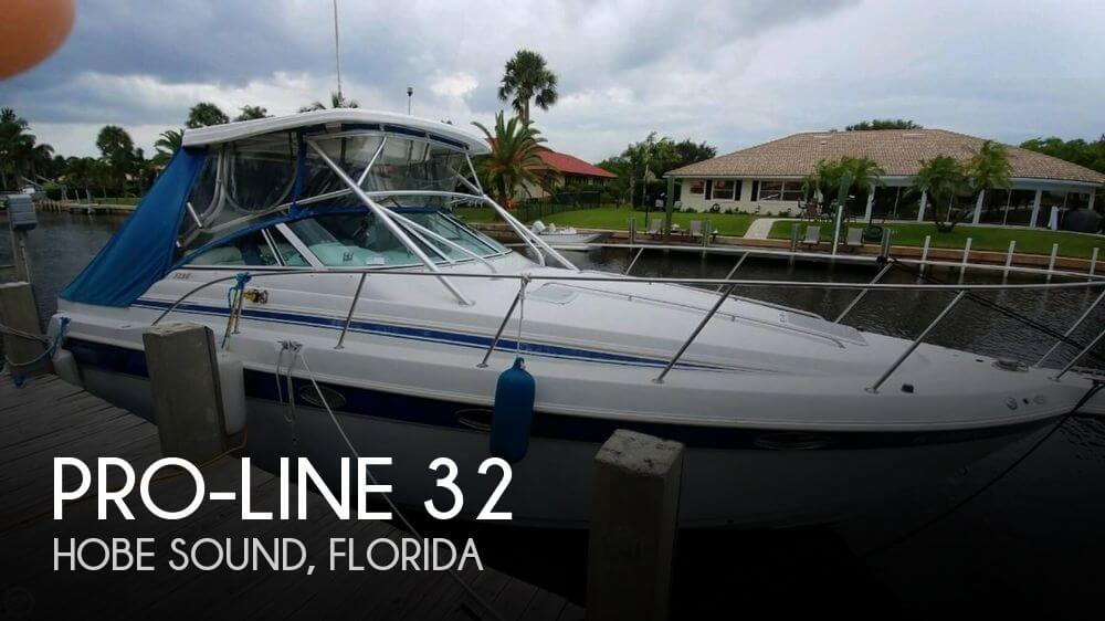 Used Pro-Line Boats For Sale in Florida by owner | 1999 Pro-Line 32