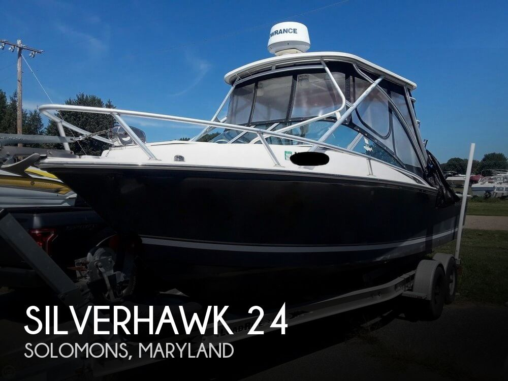 Used Silverton Boats For Sale in Maryland by owner | 2003 Silverhawk 24