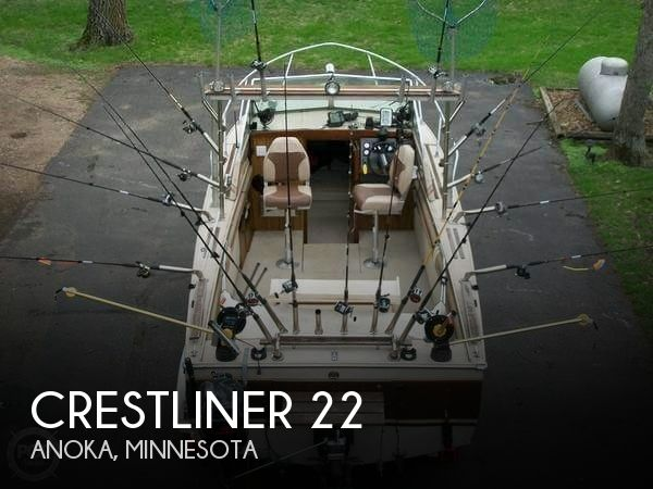 Used Crest Boats For Sale by owner | 1985 Crestliner 22