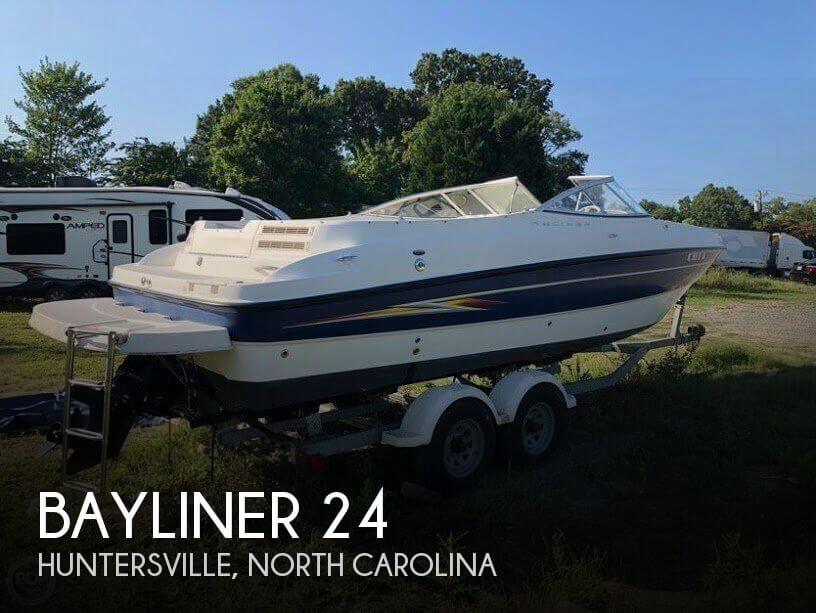 Used Bayliner Boats For Sale in North Carolina by owner | 2005 Bayliner 24