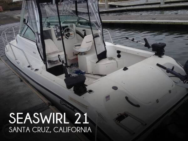 Used Boats For Sale in Santa Cruz, California by owner | 2002 Seaswirl 21