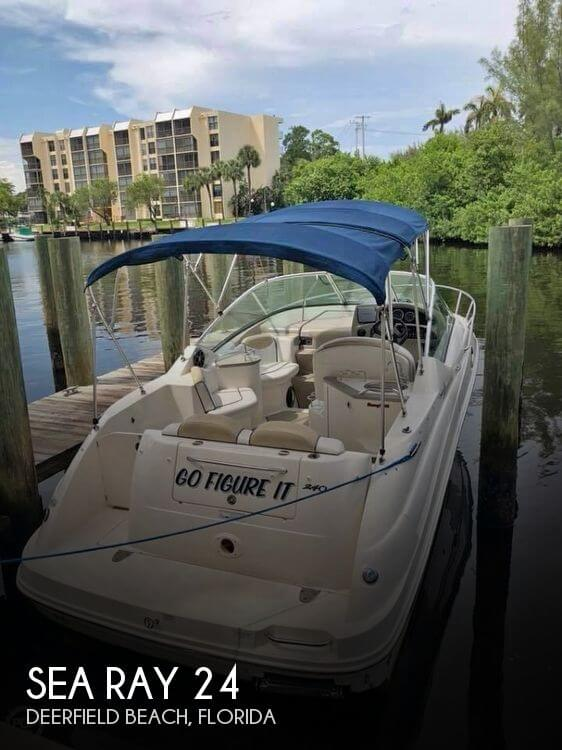 Used Boats For Sale by owner   2008 Sea Ray 24