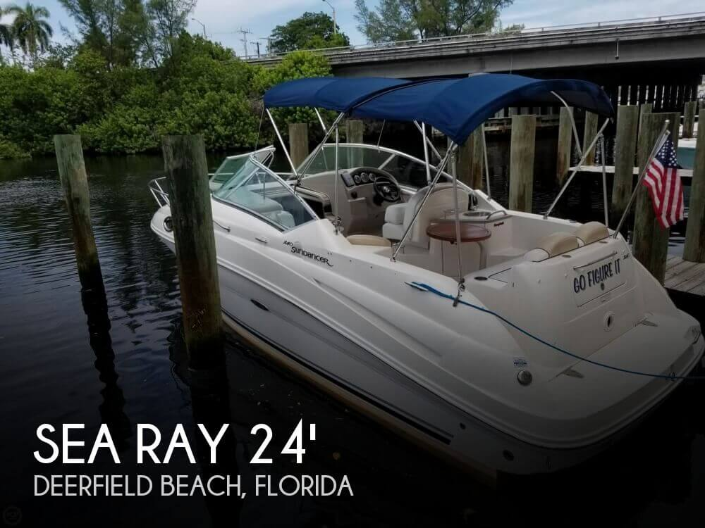 Sea Ray 240 Sundancer For Sale In Deerfield Beach Fl