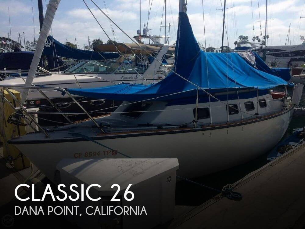 Used Sailboats For Sale by owner | 1992 Classic 26