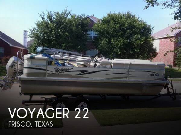 Used Pontoon Boats For Sale in Texas by owner | 2009 Voyager 22