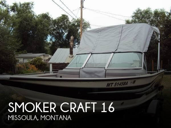Used Boats For Sale in Montana by owner | 2012 Smoker Craft 16