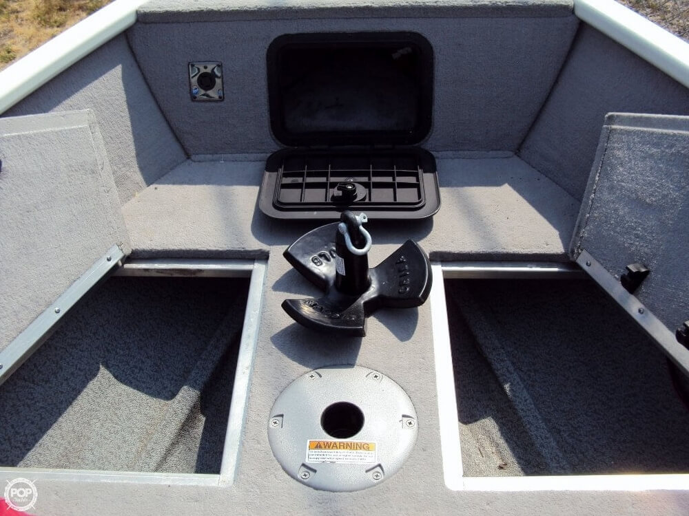 2012 Smoker Craft boat for sale, model of the boat is 162 Pro Angler XL & Image # 12 of 18