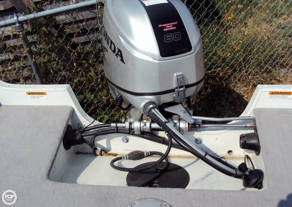 2012 Smoker Craft boat for sale, model of the boat is 162 Pro Angler XL & Image # 17 of 18