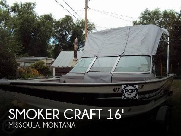 2012 Smoker Craft boat for sale, model of the boat is 162 Pro Angler XL & Image # 1 of 18
