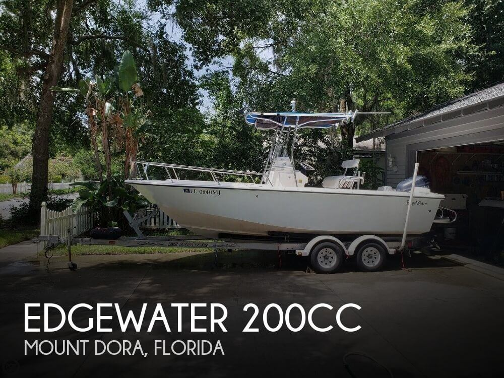 Used Edgewater Boats For Sale by owner | 2003 Edgewater 20