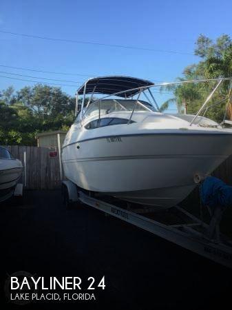 Used Bayliner Boats For Sale in Florida by owner | 2004 Bayliner 24