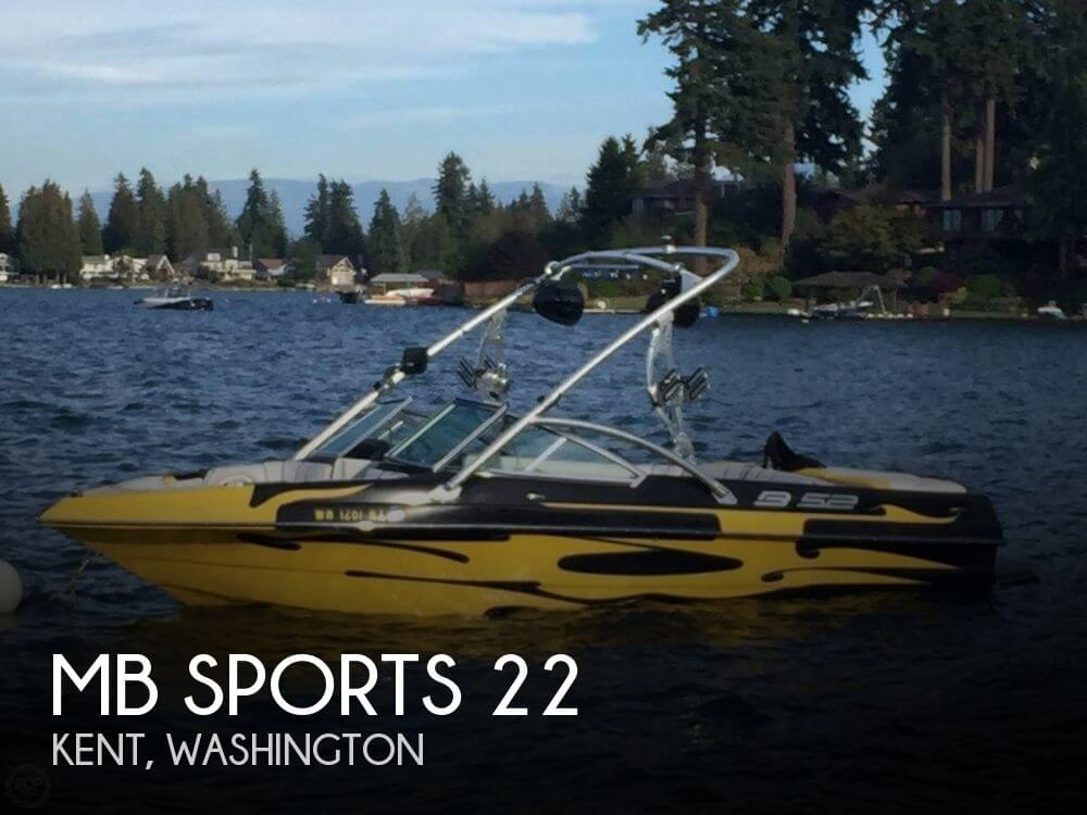 Used MB Sports Boats For Sale by owner | 2008 MB Sports 22