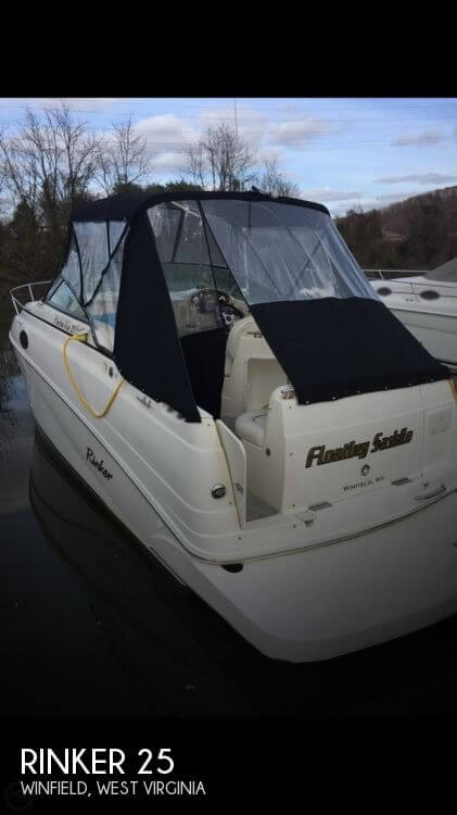 Used Boats For Sale in Huntington, West Virginia by owner | 2003 Rinker 25