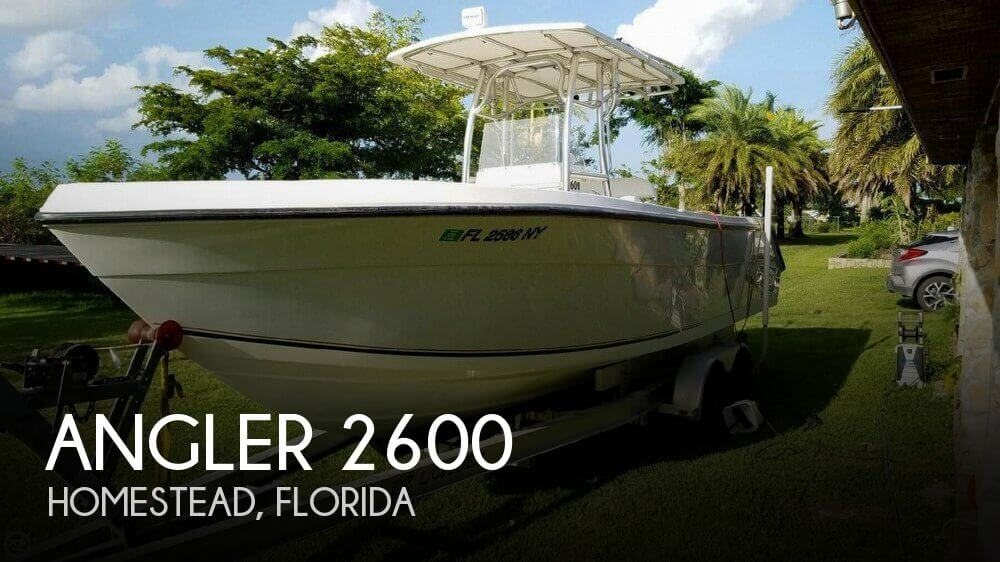 Used Angler Boats For Sale by owner | 2007 Angler 26