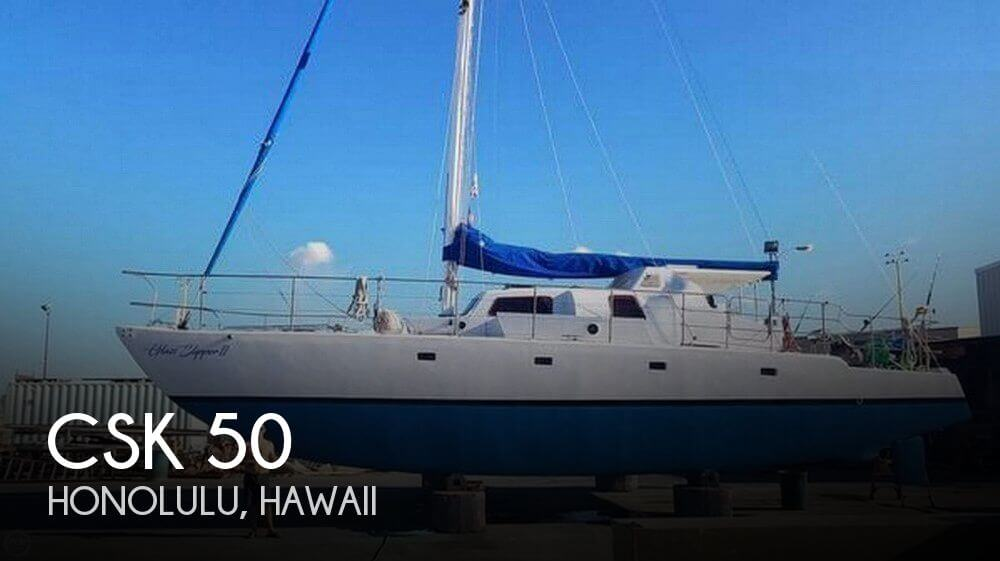 Used Boats For Sale in Honolulu, Hawaii by owner | 1966 CSY 50