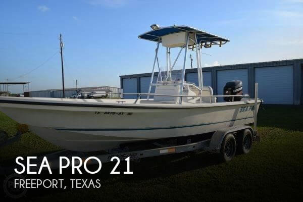 Used Power boats For Sale by owner | 1999 Sea Pro 21
