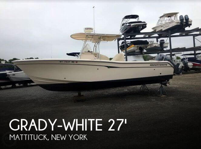 Used Boats For Sale in Hartford, Connecticut by owner | 2008 Grady-White 27