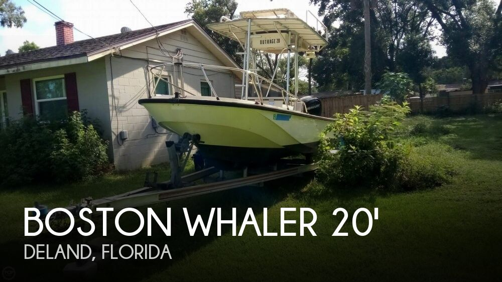 1979 Boston Whaler boat for sale, model of the boat is Outrage V-20 & Image # 1 of 40