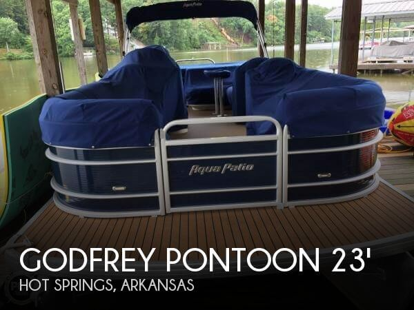 Used Pontoon Boats For Sale in Arkansas by owner   2013 Godfrey Pontoon 23
