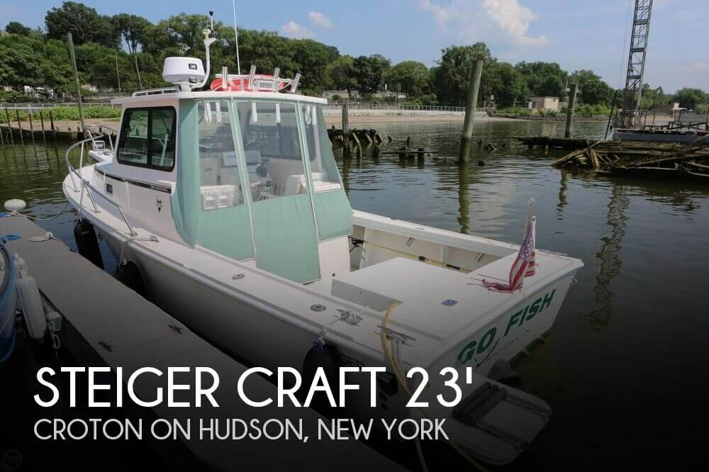 Used Ski Boats For Sale in New York by owner | 2004 Steiger Craft 23 Chesapeake