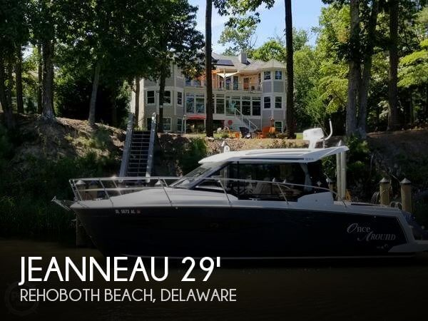 Used Boats For Sale in Delaware by owner | 2017 Jeanneau 30