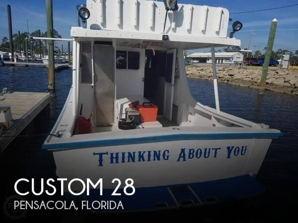 1984 CUSTOM 28 for sale