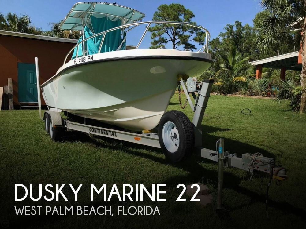Used Dusky Marine Boats For Sale by owner | 2013 Dusky Marine 22