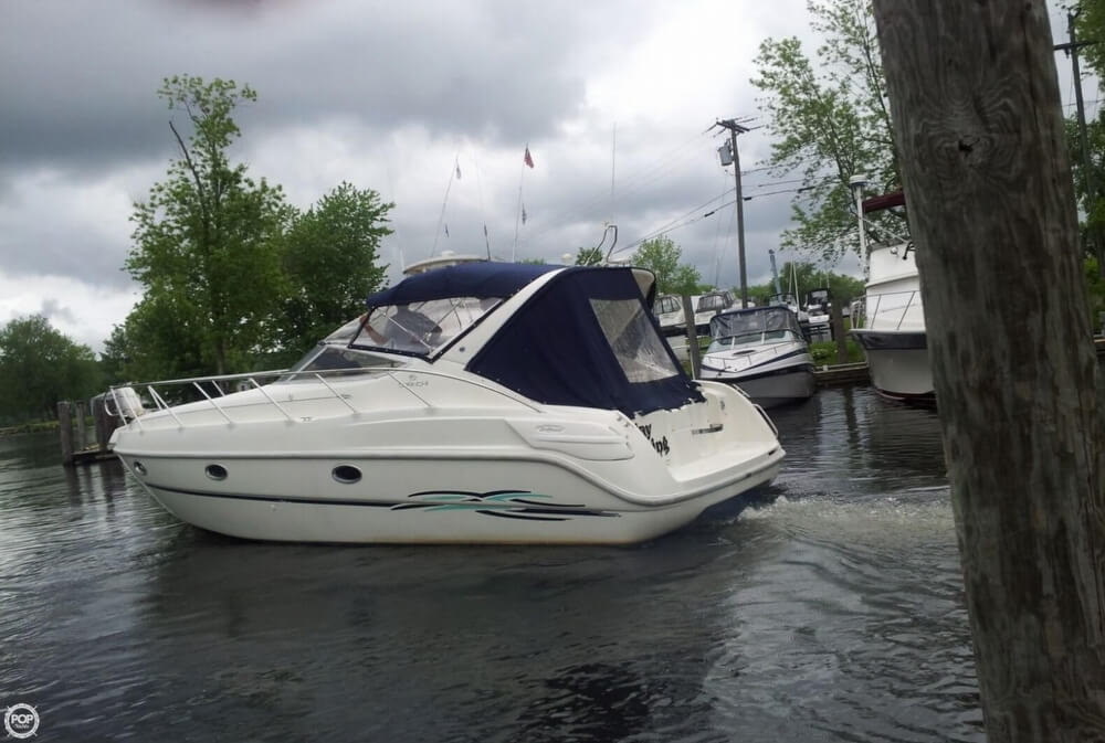 1997 Cranchi boat for sale, model of the boat is Zaffiro 34 & Image # 2 of 40