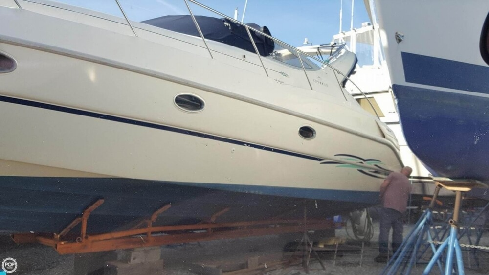 1997 Cranchi boat for sale, model of the boat is Zaffiro 34 & Image # 3 of 40