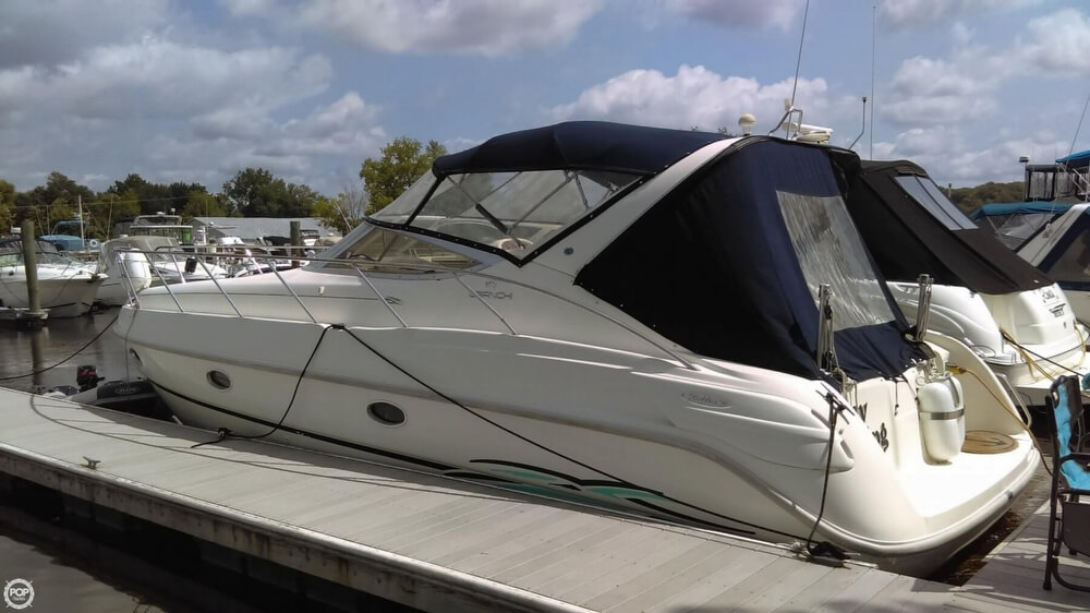 1997 Cranchi boat for sale, model of the boat is Zaffiro 34 & Image # 4 of 40