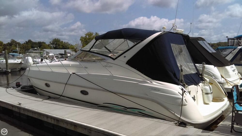 1997 Cranchi boat for sale, model of the boat is Zaffiro 34 & Image # 5 of 40