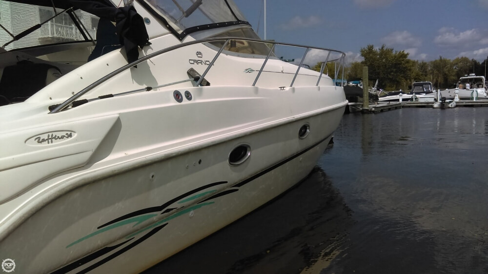 1997 Cranchi boat for sale, model of the boat is Zaffiro 34 & Image # 38 of 40