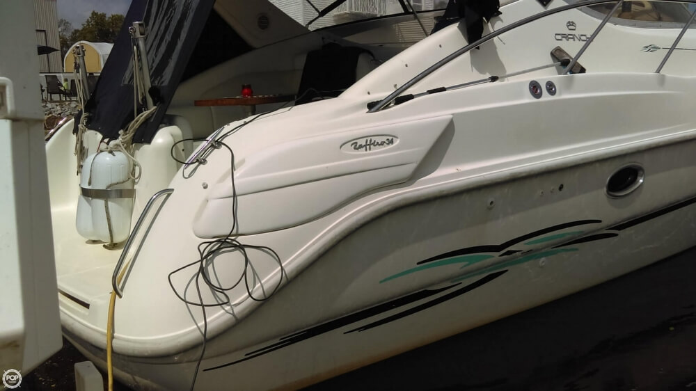1997 Cranchi boat for sale, model of the boat is Zaffiro 34 & Image # 39 of 40