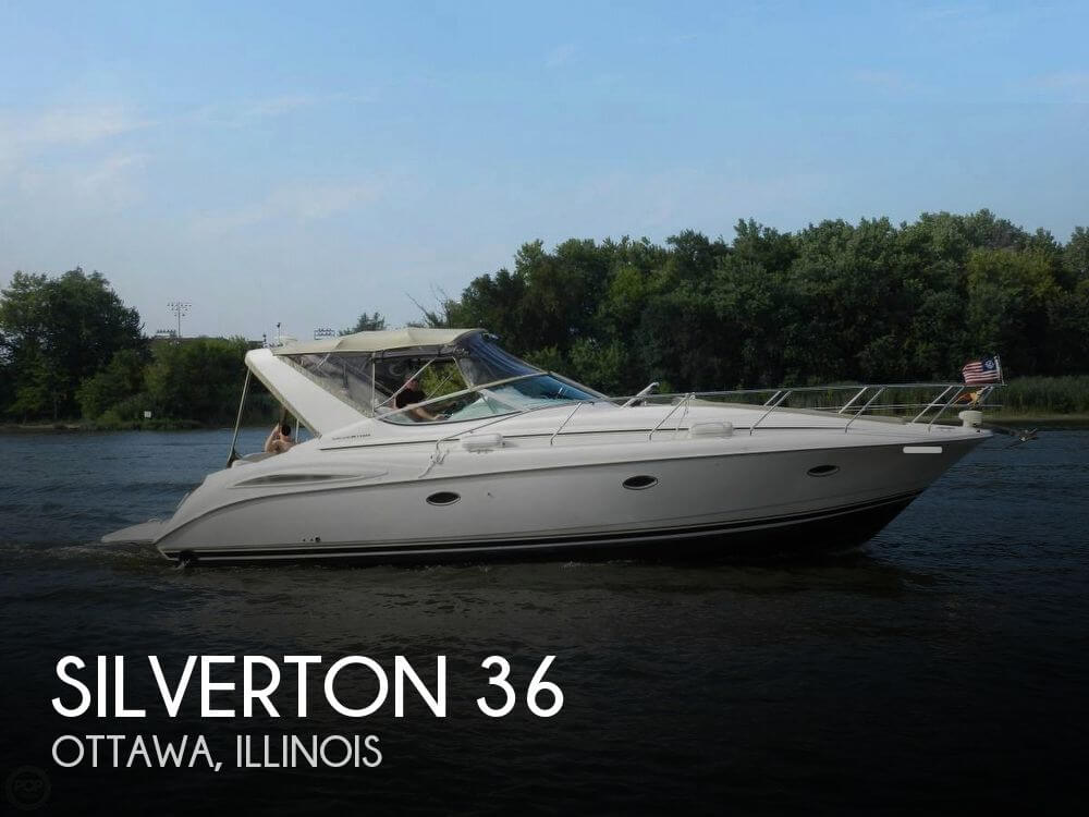 Used Boats For Sale in Peoria, Illinois by owner | 1998 Silverton 36