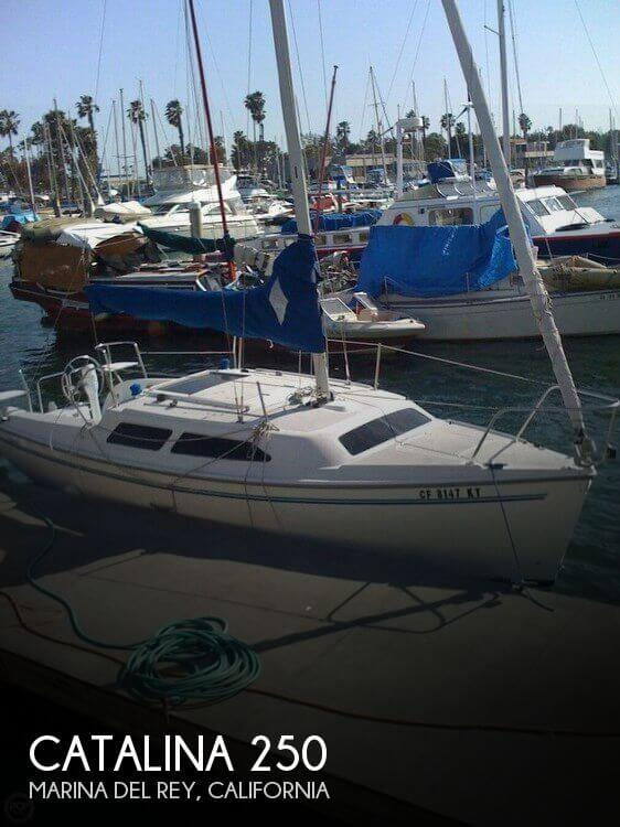Used Catalina Boats For Sale in California by owner | 1997 Catalina 25