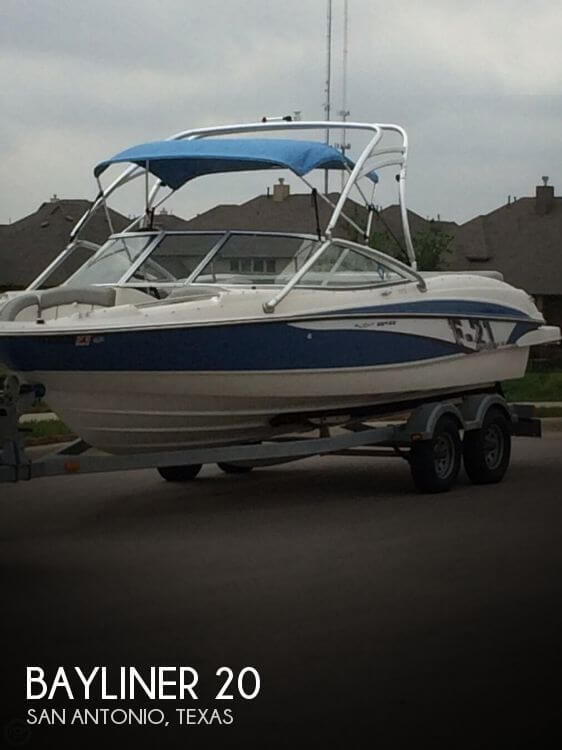 Used Bayliner Boats For Sale in Texas by owner | 2011 Bayliner 20