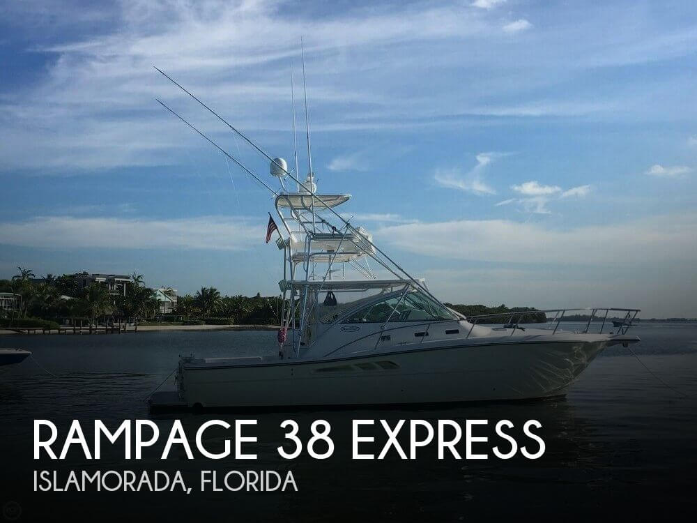 Used Fishing boats For Sale in Florida by owner | 2006 Rampage 38