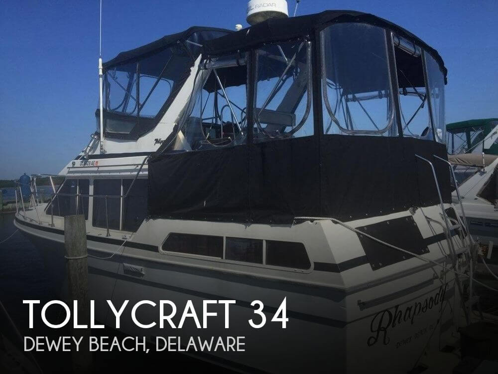 Used Tollycraft Boats For Sale by owner | 1987 Tollycraft 34