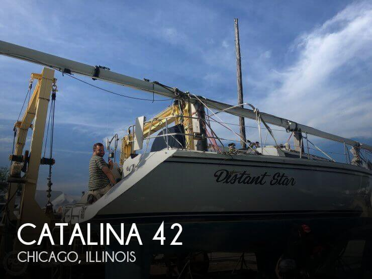 Used Catalina Sailboats For Sale by owner | 1991 Catalina 42