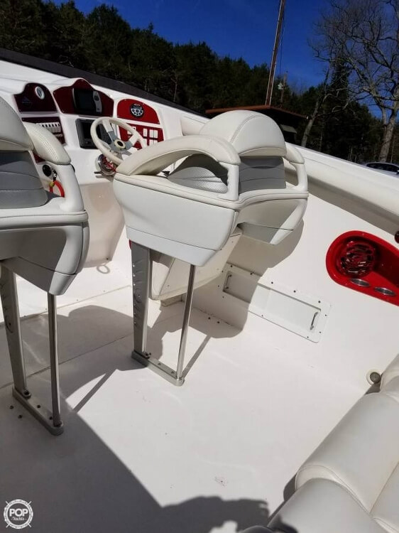 2008 Profile boat for sale, model of the boat is 382V Poker Run Edition & Image # 6 of 40