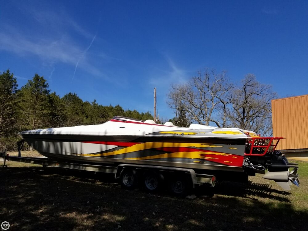 2008 Profile boat for sale, model of the boat is 382V Poker Run Edition & Image # 3 of 40
