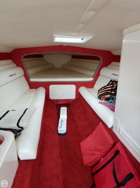 2008 Profile boat for sale, model of the boat is 382V Poker Run Edition & Image # 23 of 40