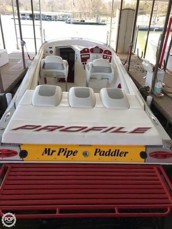 2008 Profile boat for sale, model of the boat is 382V Poker Run Edition & Image # 30 of 40