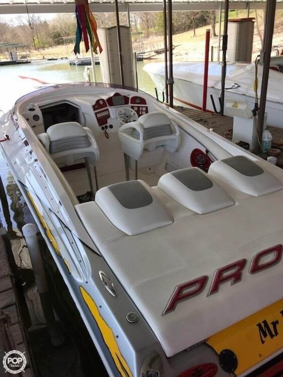 2008 Profile boat for sale, model of the boat is 382V Poker Run Edition & Image # 31 of 40