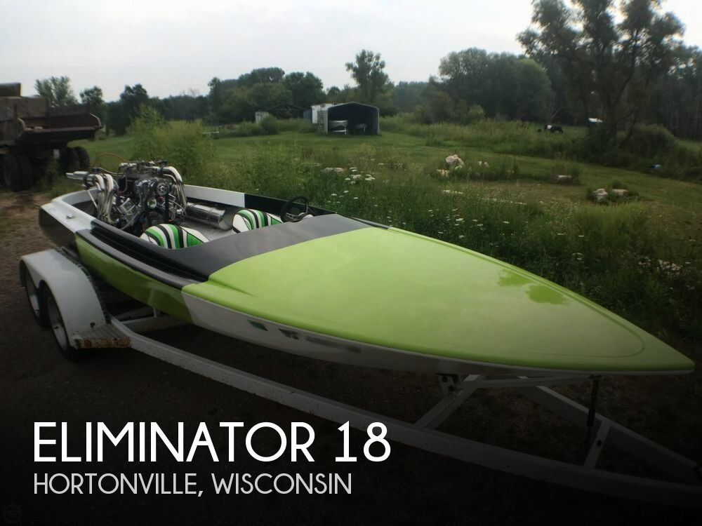 1973 Eliminator boat for sale, model of the boat is 18 & Image # 1 of 40