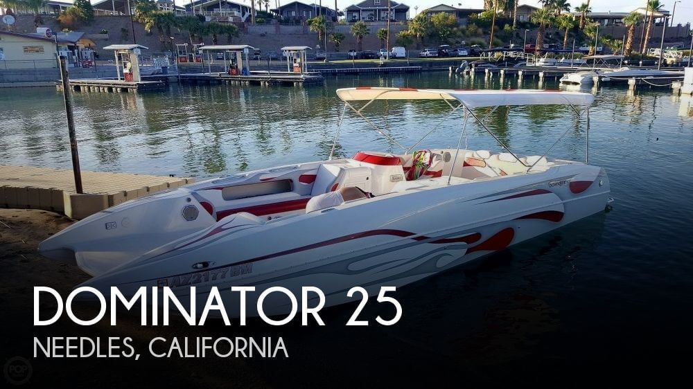 Used Deck Boats For Sale by owner | 2007 Dominator 25