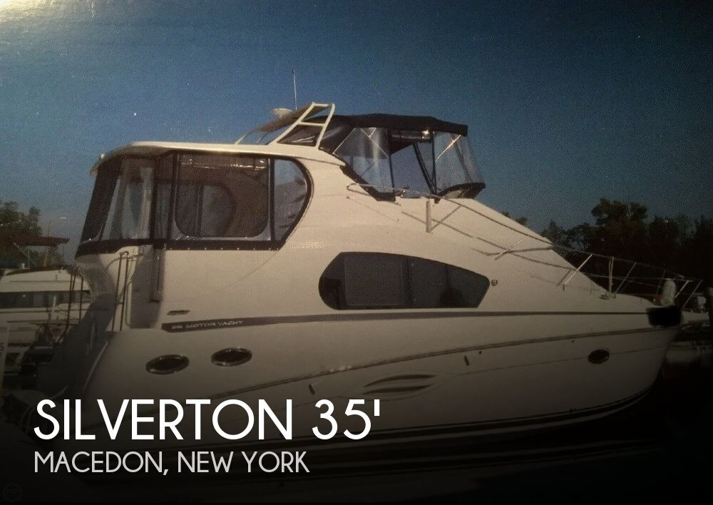 Used Boats For Sale in Rochester, New York by owner | 2009 Silverton 40