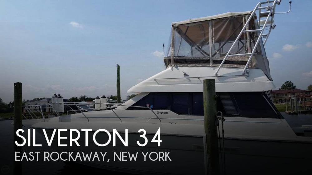 Used Silverton Boats For Sale in New York by owner | 1990 Silverton 34