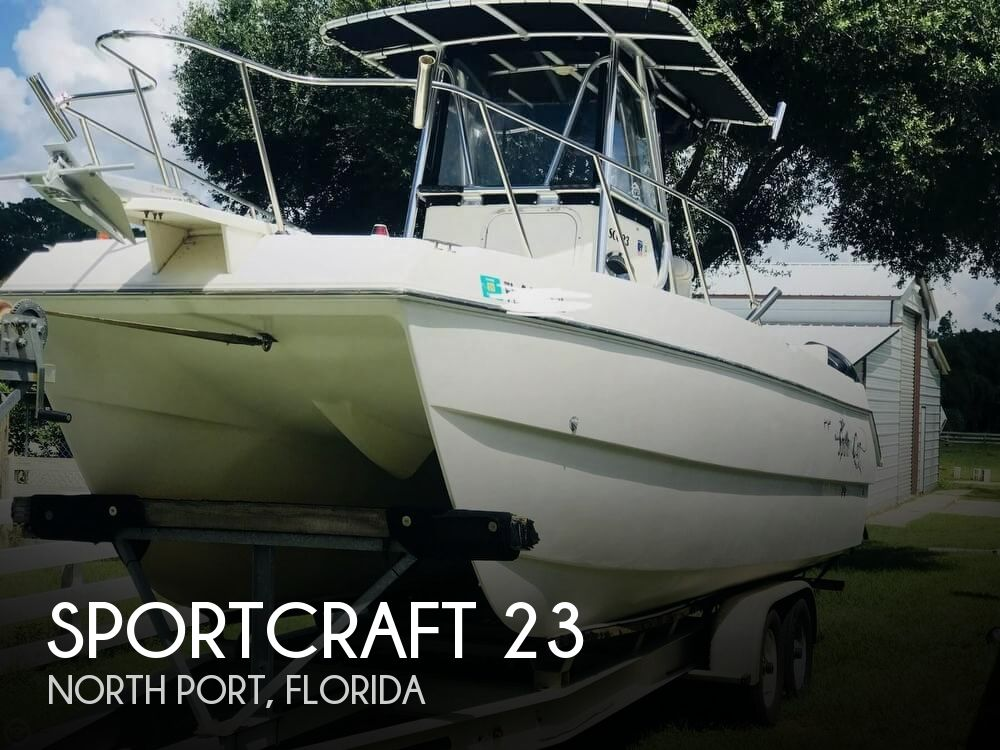 2002 Sportcraft SCC 23 Sport Cat
