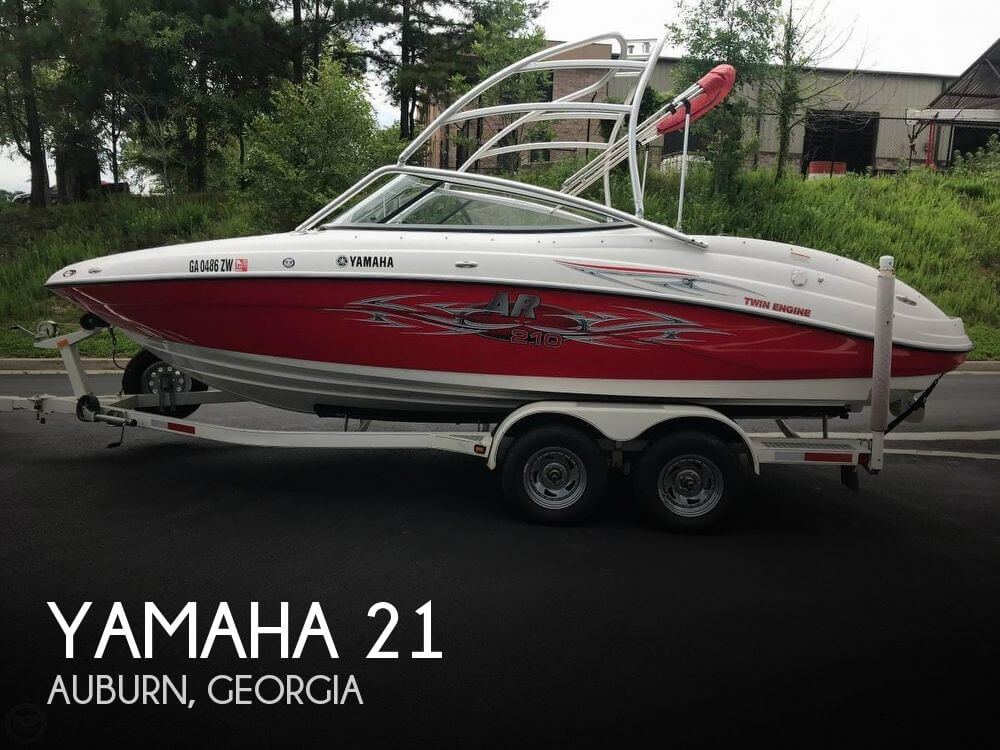 Used Yamaha Boats For Sale in Georgia by owner | 2006 Yamaha 21